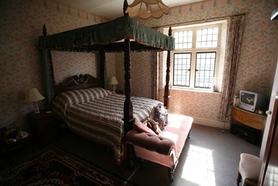 Another bedroom at Banwell Castle